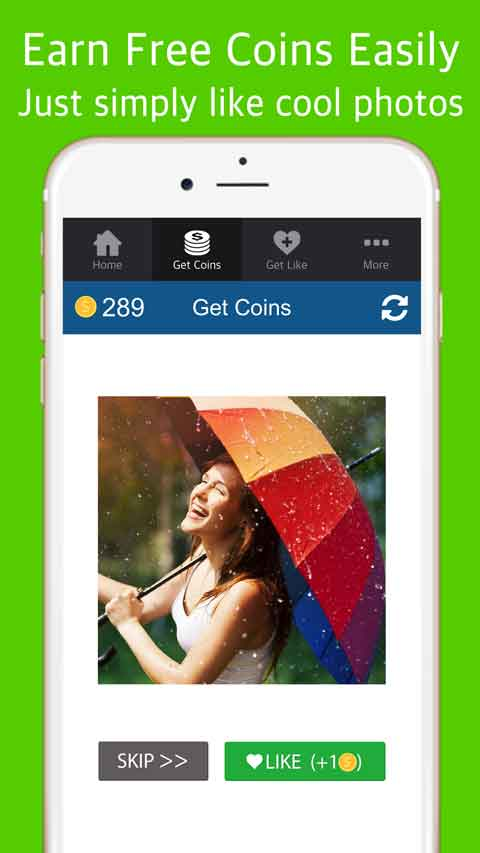 Turbo Like for Instagram (Android and iOS app) - Get FREE Instagram